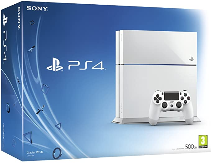 Sony Playstation 4 500GB Glacier White