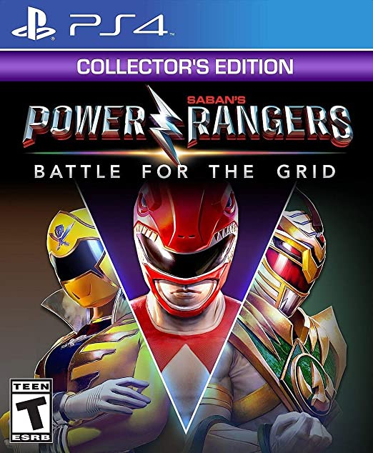 Power Rangers Battle for the Grid Colectors Edition