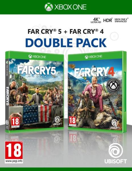 Far Cry 5 + Far Cry 4 Double Pack - Xbox One Játékok