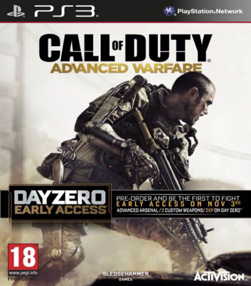 Call of Duty Advanced Warfare - PlayStation 3 Játékok