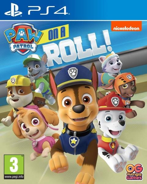 Outright Games Paw on Patrol On Roll!