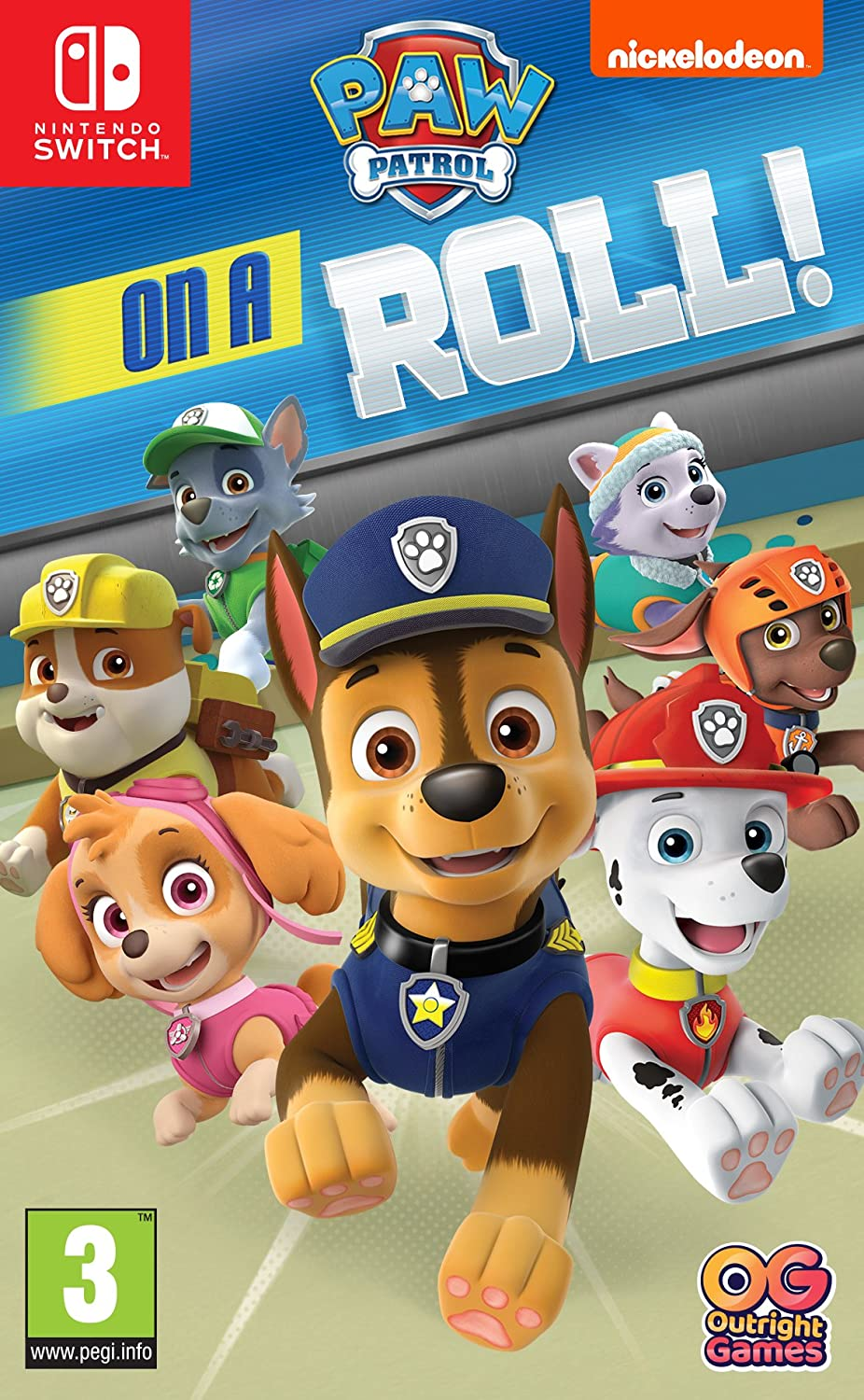 Nickelodion Paw Patrol On a Roll