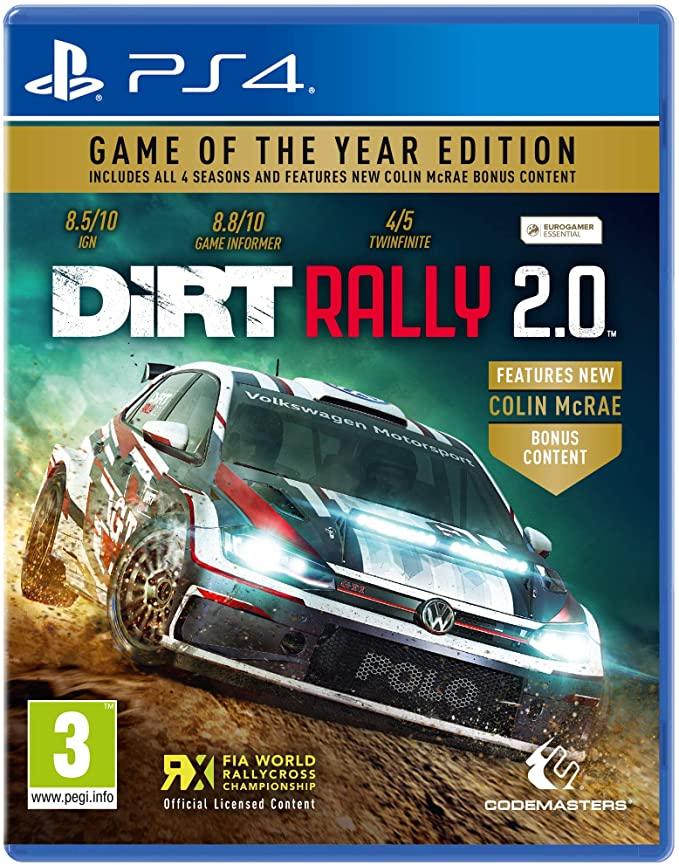Dirt Rally 2.0 Game of the Year Edition - PlayStation 4 Játékok