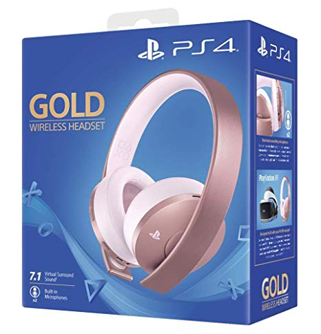 Sony Playstation Wireless Gold Headset 7.1 Rose Gold (Ps4)