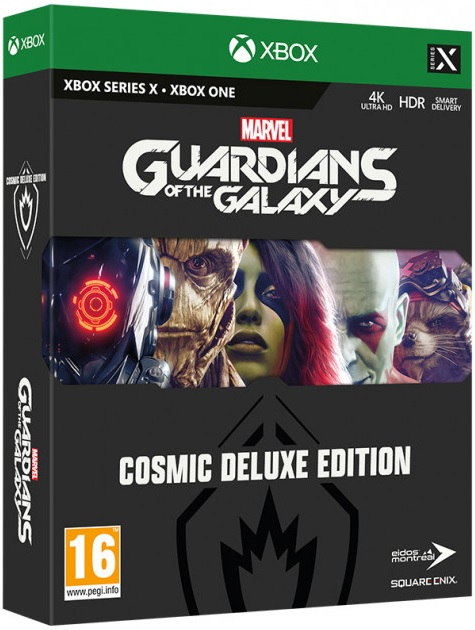 Marvels Guardians of the Galaxy - Cosmic Deluxe Edition