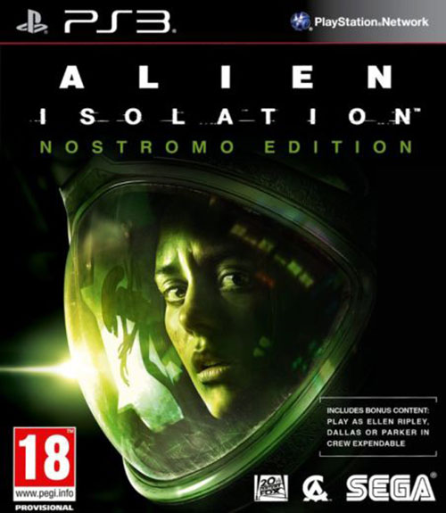 Alien Isolation Nostromo Edition - PlayStation 3 Játékok
