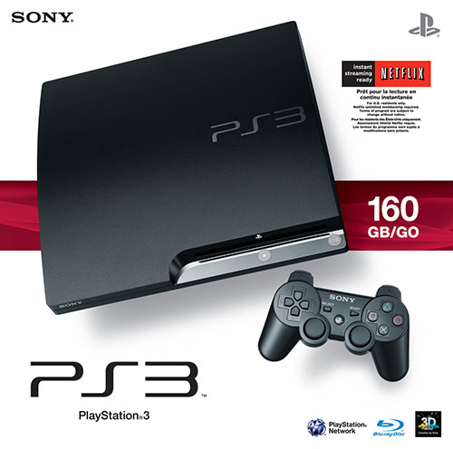 Sony Playstation 3 Slim 160 GB