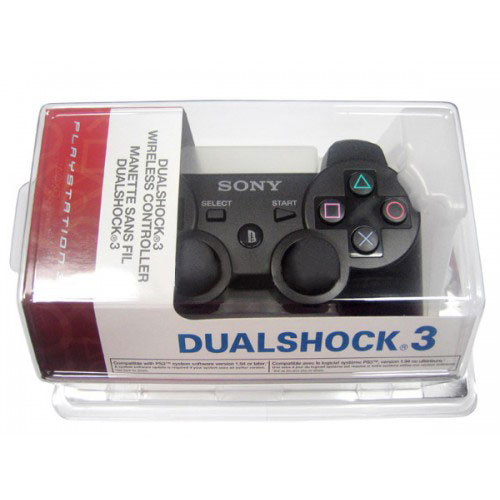 Sony Playstation 3 Dualshock 3 Controller Black