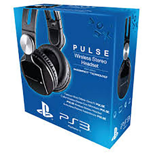 Sony Playstation 3 Pulse Wireless 7.1 Headset Elite