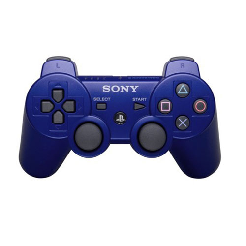 Sony Playstation 3 Dualshock3 Controller Blue (Refurbished)