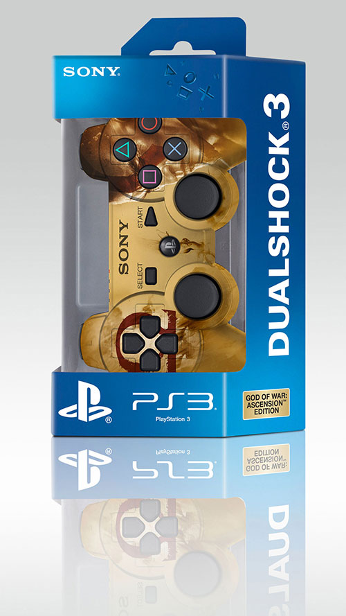 Sony Playstation 3 Dualshock3 Controller God Of War (Refurbished)