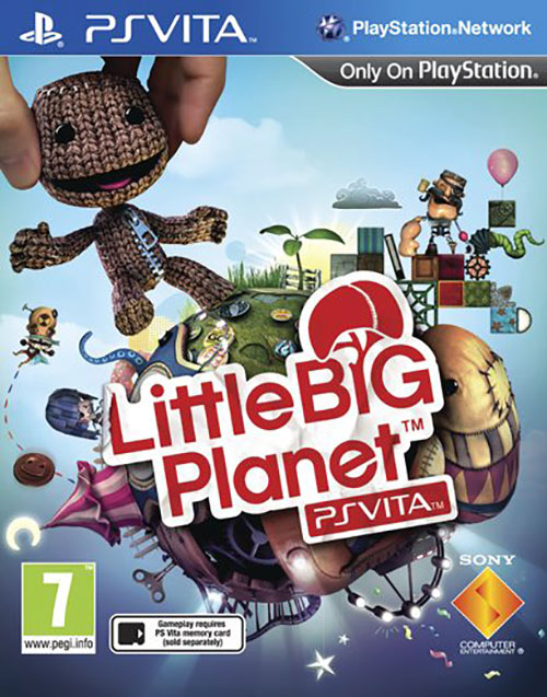 Little Big Planet - PS Vita Játékok