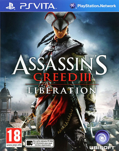 Assassins Creed III Liberation - PS Vita Játékok