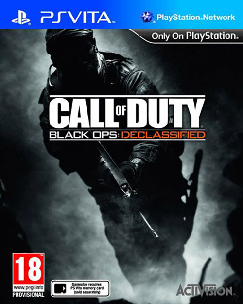 Call of Duty Black Ops Declassified - PS Vita Játékok