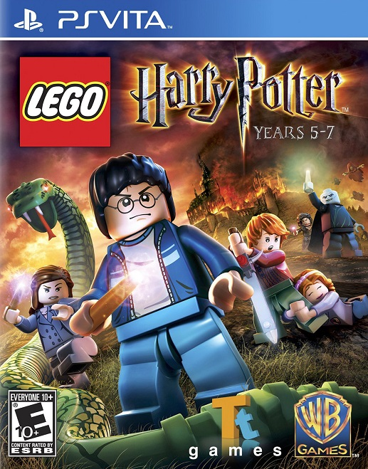 Lego Harry Potter Years 5-7 - PS Vita Játékok
