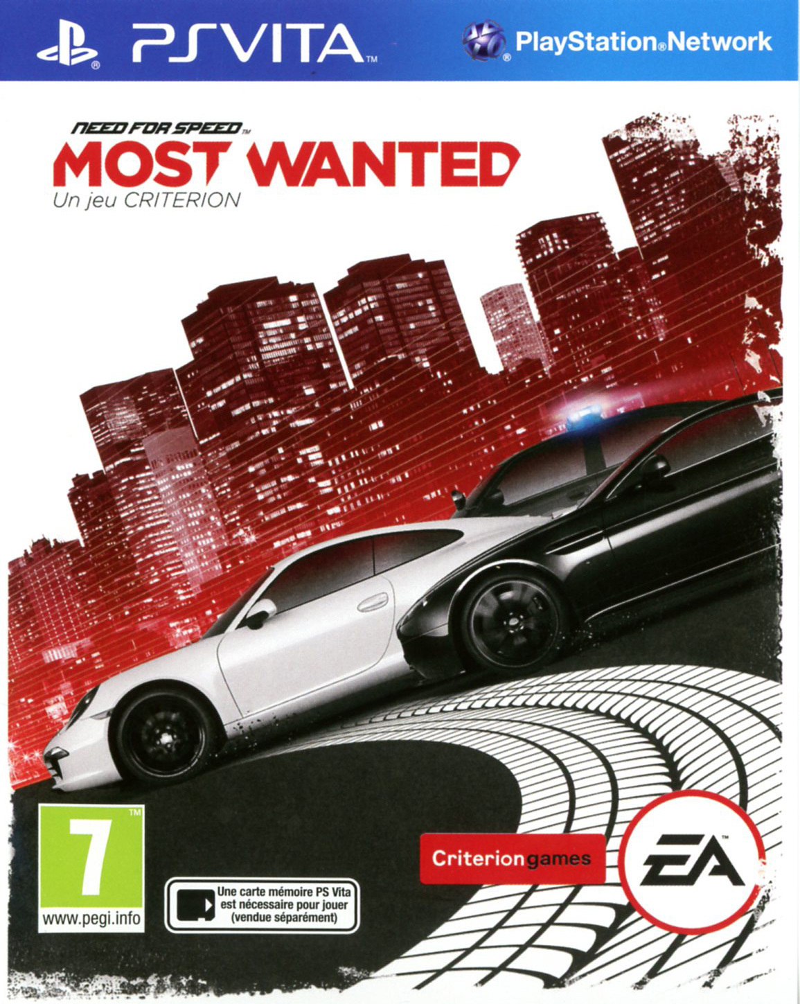 Need For Speed Most Wanted - PS Vita Játékok