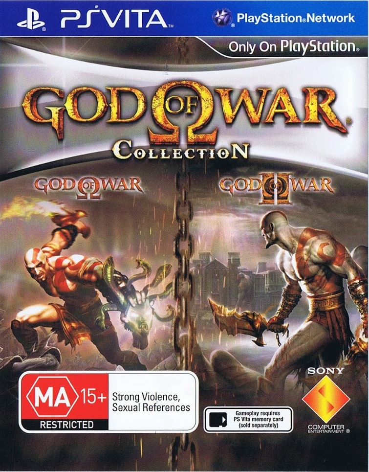 God of War: Collection - PS Vita Játékok