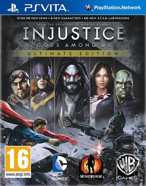 Injustice Gods Among Us Ultimate Edition - PS Vita Játékok