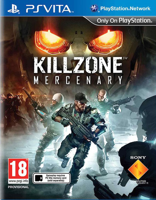 Killzone Mercenary - PS Vita Játékok