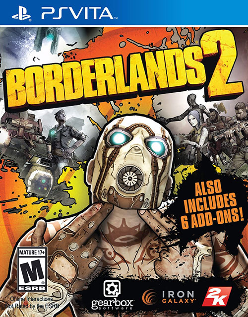 Borderlands 2 - PS Vita Játékok