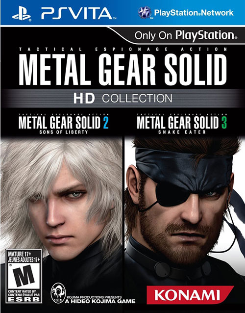 Metal Gear Solid HD Collection - PS Vita Játékok