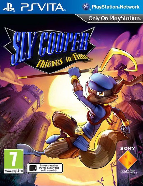 Sly Cooper: Thieves in Time - PS Vita Játékok