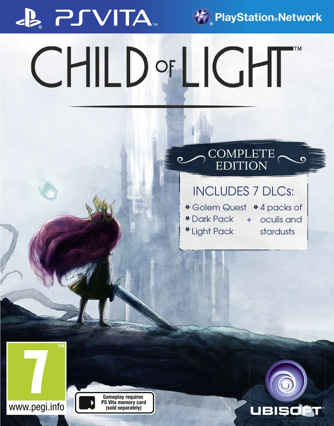Child of Light Complete Edition Vita - PS Vita Játékok