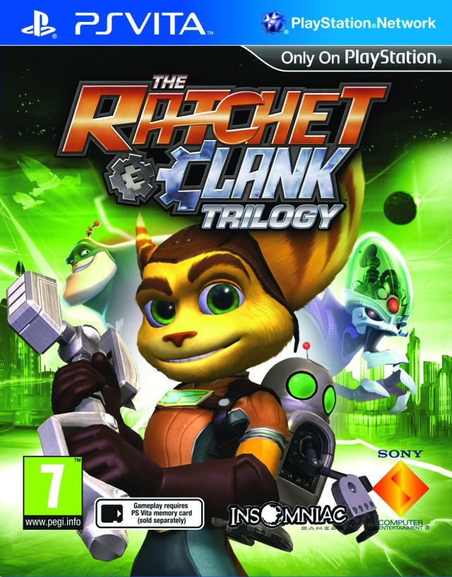 Ratchet and Clank Trilogy - PS Vita Játékok