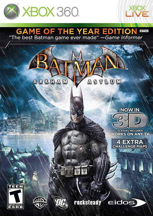 Batman - Arkham Asylum Game of the Year Edition