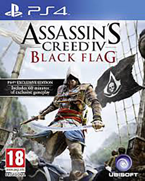 Assassins Creed IV Black Flag - PlayStation 4 Játékok