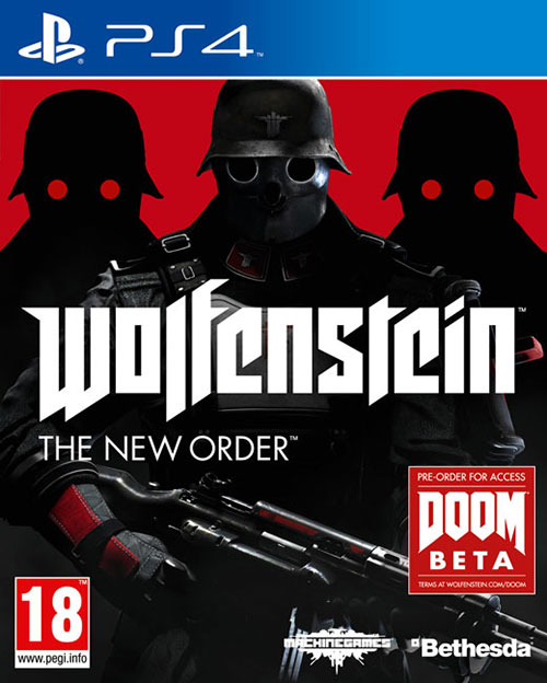 Wolfenstein The New Order - PlayStation 4 Játékok
