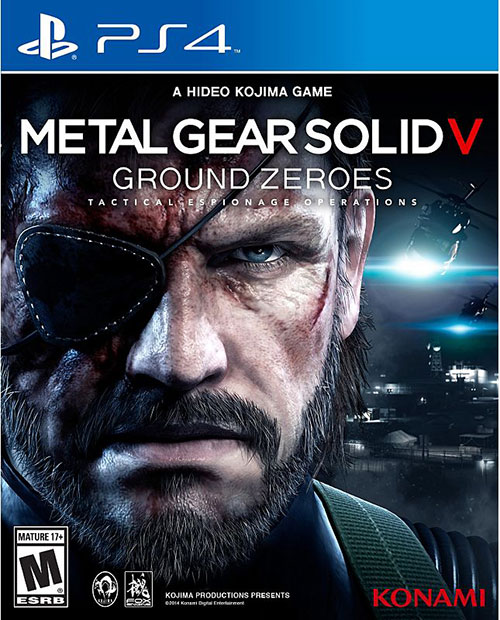 Metal Gear Solid V Ground Zeroes - PlayStation 4 Játékok