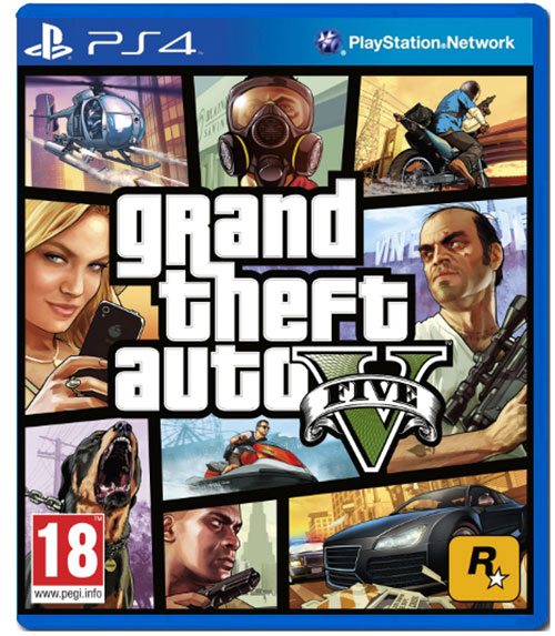 Grand Theft Auto V - PlayStation 4 Játékok