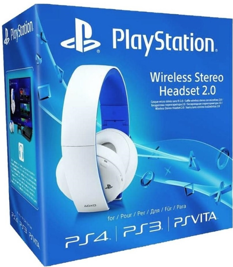 Sony Playstation 4 2.0 Wireless Headset Virtual 7.1 (Fehér)