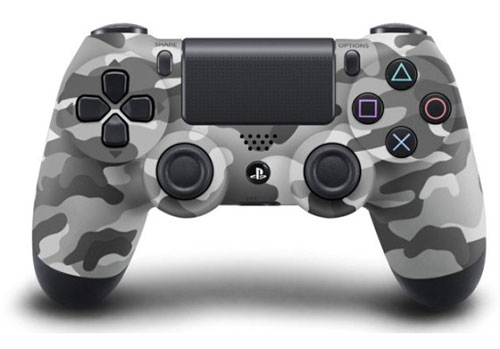 Sony Playstation 4 Dualshock 4 Controller Grey Camouflage
