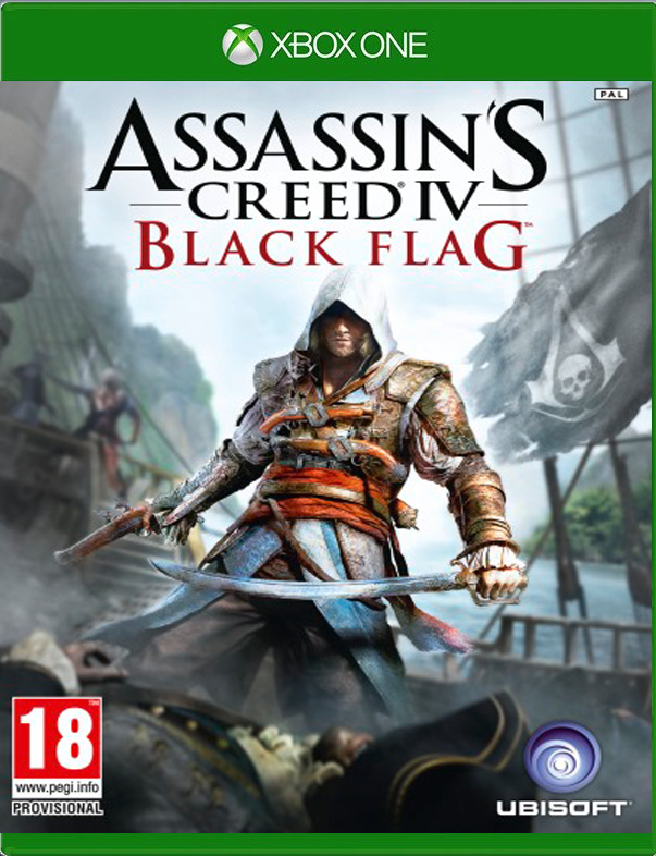 Assassins Creed IV Black Flag - Xbox One Játékok