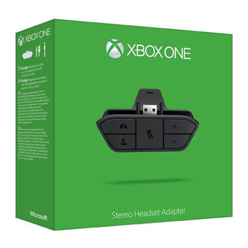 Microsoft Xbox One Stereo Headset Adapter Xbox One