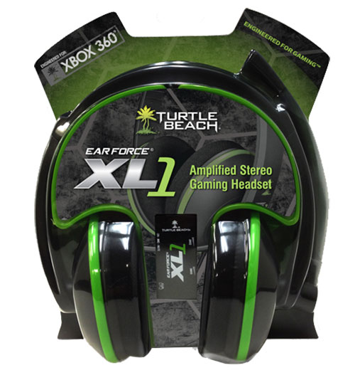 Turtle Beach Ear Force XL1 Stereo Headset Xbox 360 - Xbox 360 Kiegészítők