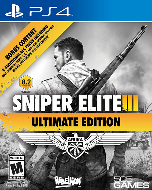 Sniper Elite 3 Ultimate Edition - PlayStation 4 Játékok