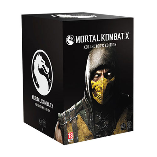 Mortal Kombat X Collectors Edition - PlayStation 4 Játékok