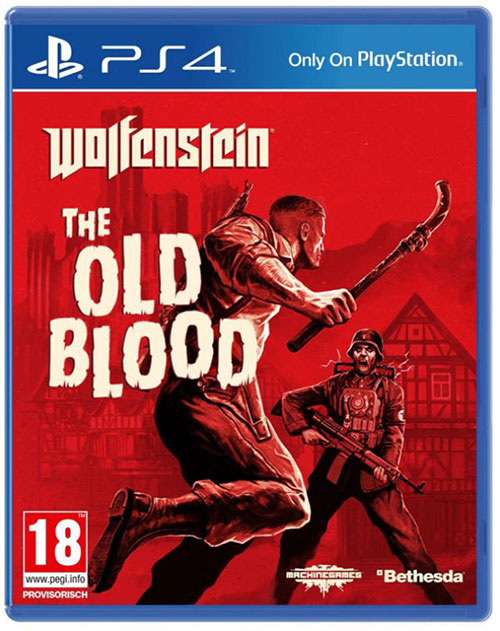Wolfenstein The Old Blood - PlayStation 4 Játékok