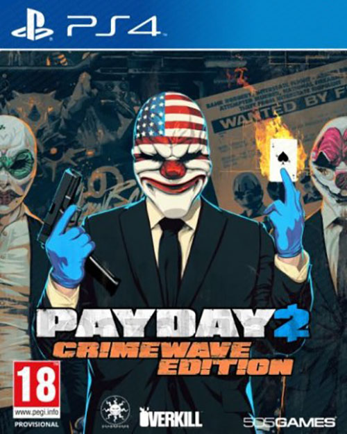 Payday 2 Crimewave Edition - PlayStation 4 Játékok