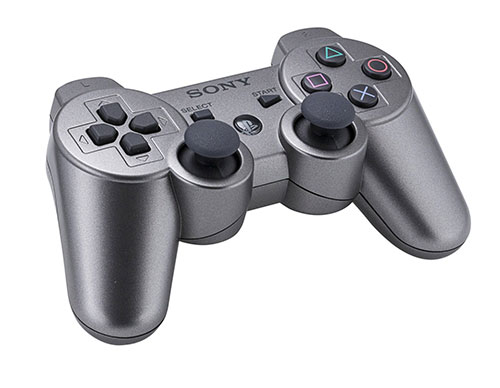 Sony Playstation 3 Dualshock 3 Wireless Controller Silver (Refurbished)