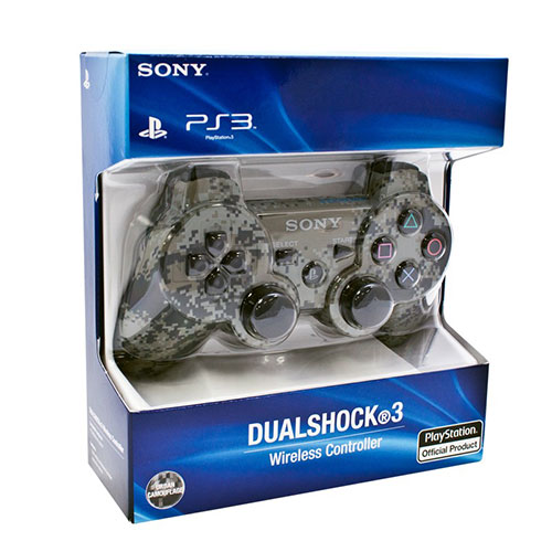 Sony Playstation 3 Dualshock 3 Controller Urban Camouflage (Refurbished)