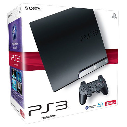 Sony Playstation 3 Slim 120GB