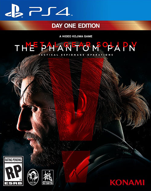 Metal Gear Solid 5 The Phantom Pain - PlayStation 4 Játékok