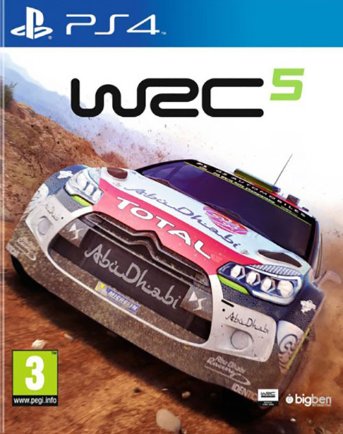 World Rally Championship 5 WRC5 - PlayStation 4 Játékok