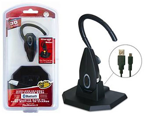 Mad Catz wireless Bluetooth Headset PS3