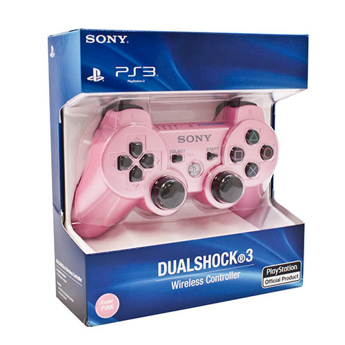 Sony Playstation 3 Dualshock 3 Wireless Controller Pink (Refurbished)
