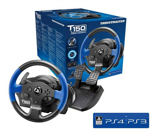 Thrustmaster T150 Force Feedback Playstation 4,3 PC Kormány